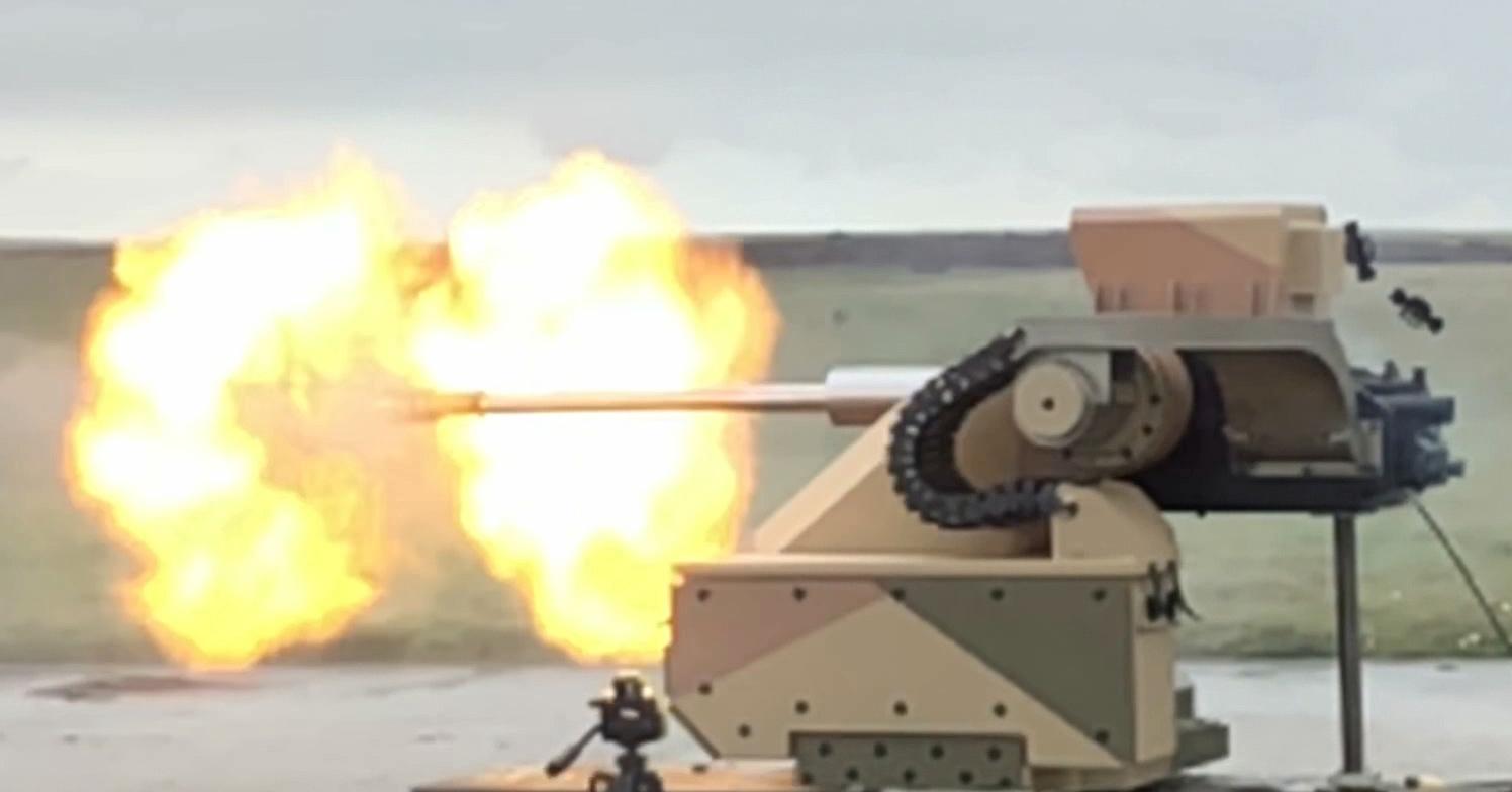 AEI Systems' VENOM 30, integrated into Valhalla's Midgard 300 Mk.1 RCWS,